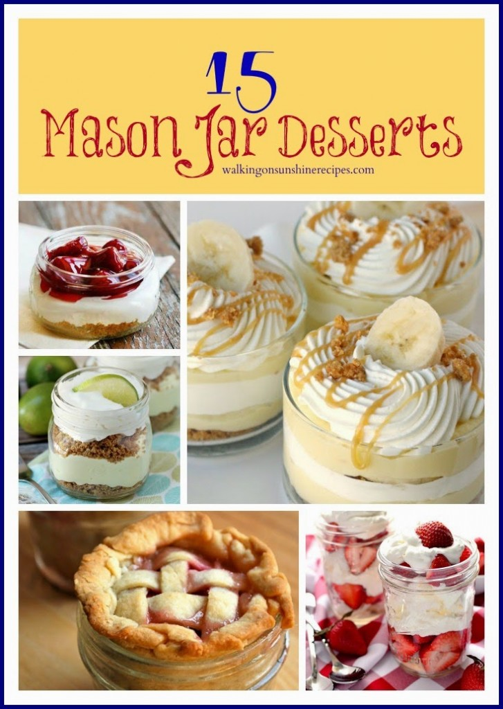 15 Mason Jar Desserts