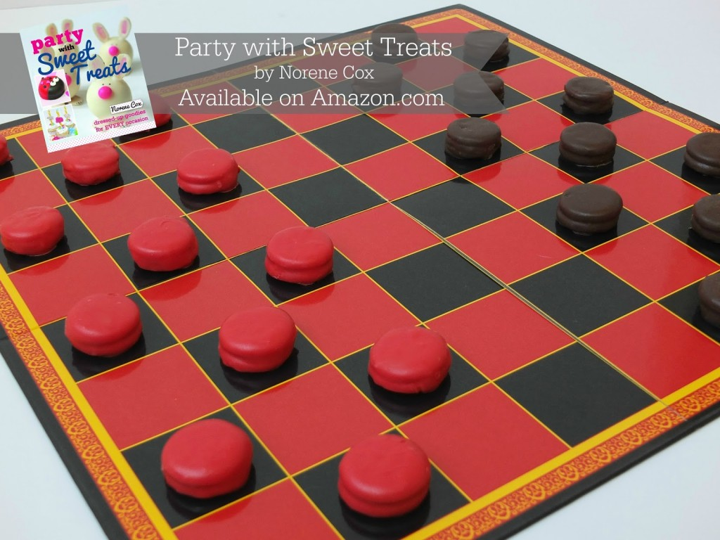 Peanut Butter Cracker Checkers Game
