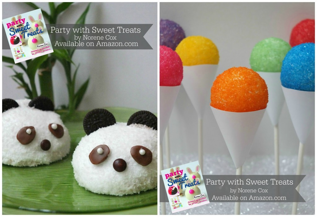 Panda Snack Cakes and Snow Cone Cake Pops