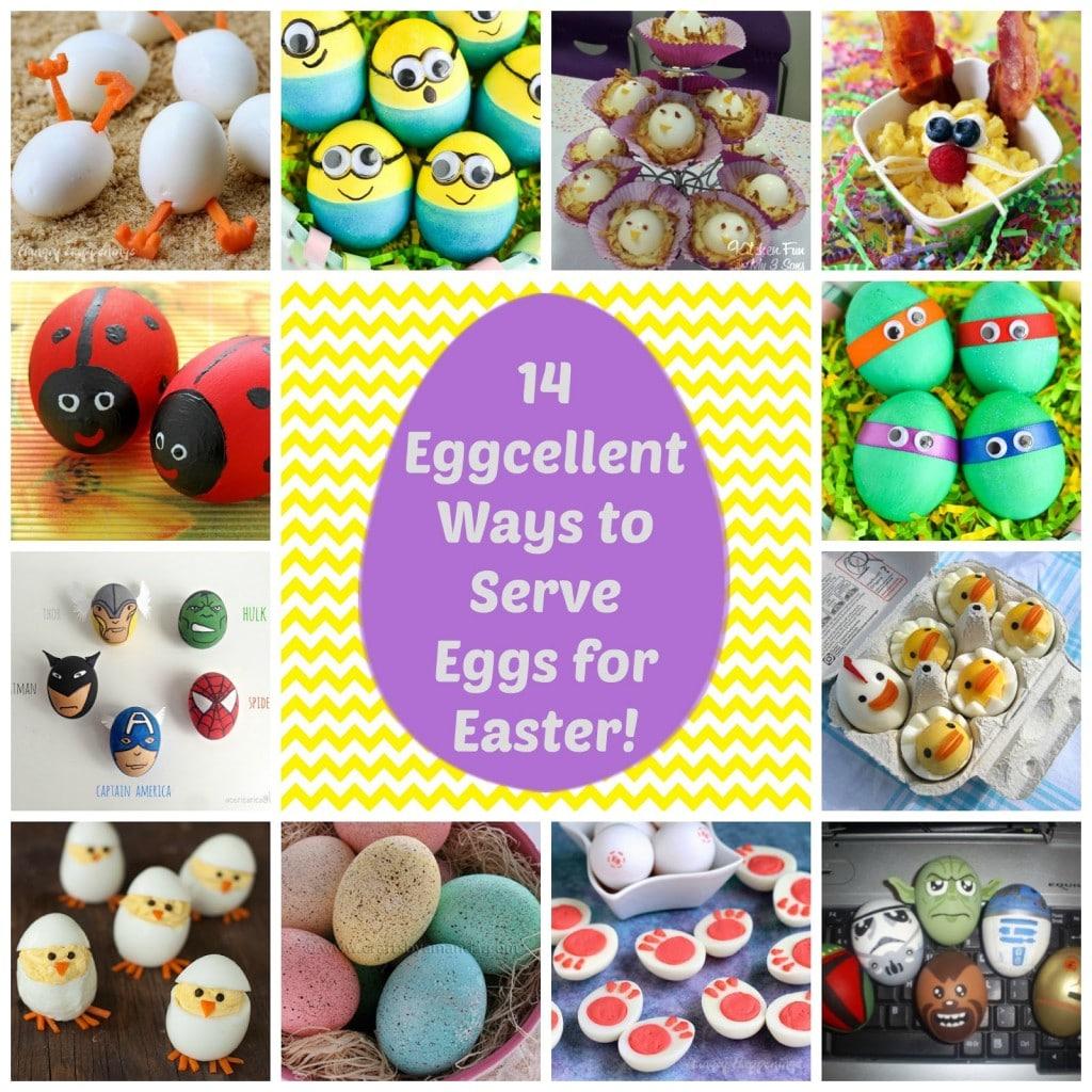 "14 ""Eggcellent"" Ways to Serve Eggs for Easter"