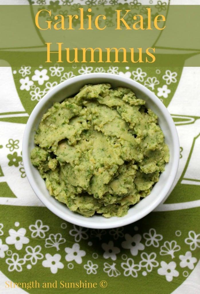 Garlic Kale Hummus