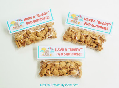 Bear Summer Take Home Bags