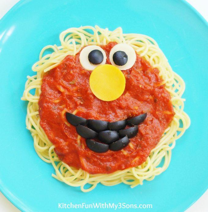 Elmo Spaghetti Dinner