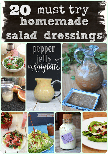 20 Must Try Homemade Salad Dressings