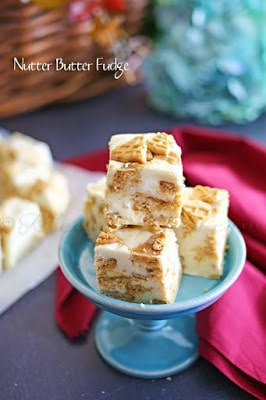 Nutter Butter Fudge