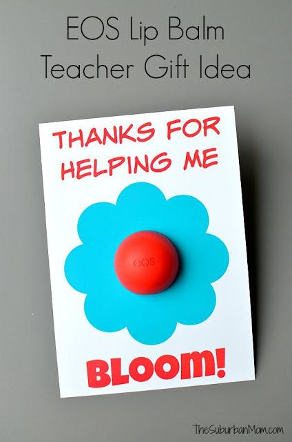 EOS Lip Balm Teacher Gift
