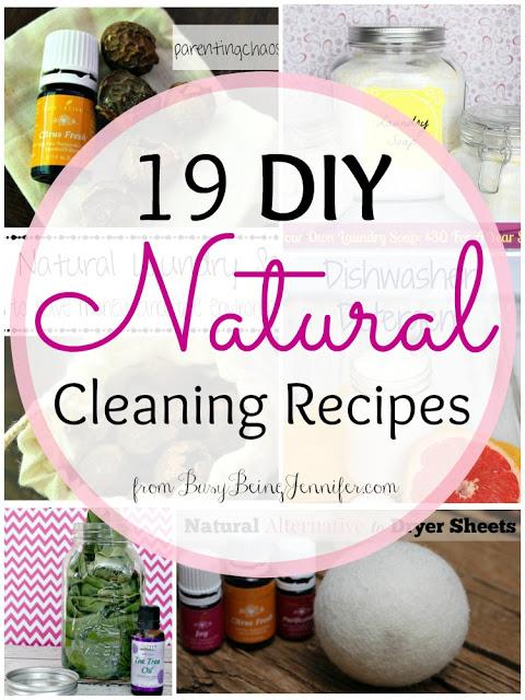 19 DIY Natural Cleaning Recipes