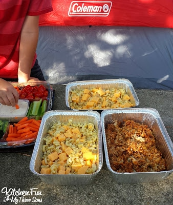 Fun camping ideas for kids camping recipes and fun for Cool food ideas for kids