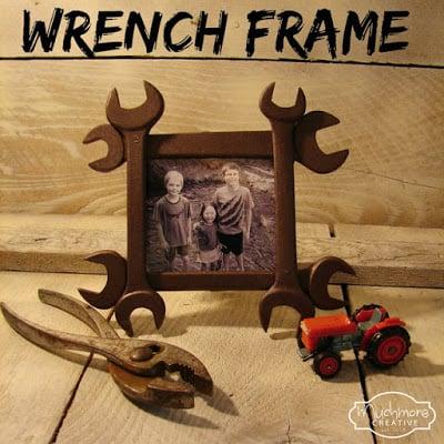 DIY Wrench Frame