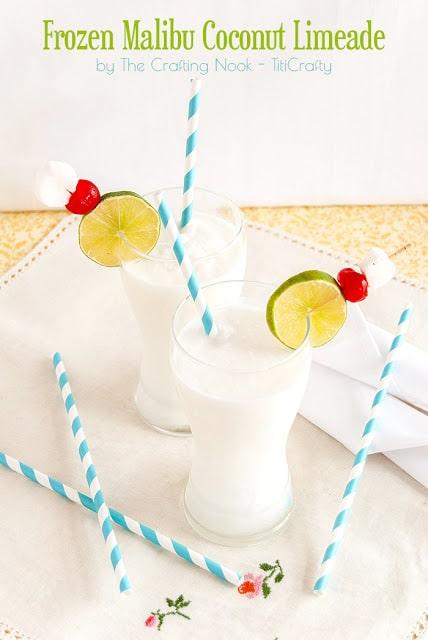 Frozen Malibu Coconut Limeade