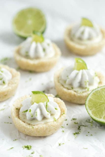 No Bake Mini Key Lime Pies