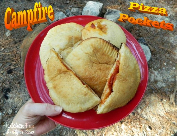 Campfire Pizza Pockets