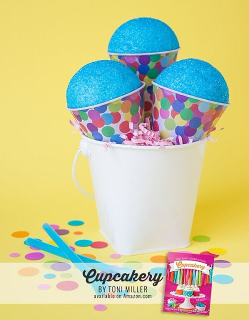 These Blue Raspberry Cupcakes are adorable and SO easy to make!