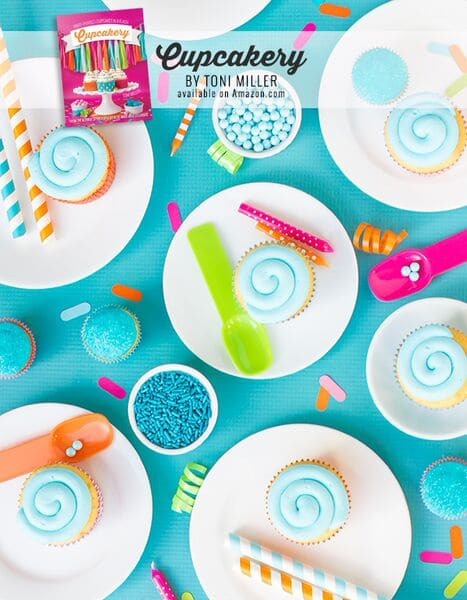 Toni shares awesome baking tips & tricks. Also a ton of info on baking supplies, frosting techniques, and lots of fun sprinkle ideas!