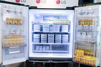 LG Double Door-in-Door Refrigerator
