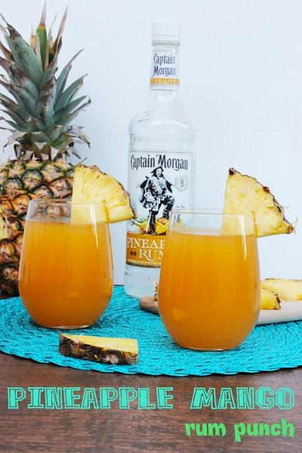 Pineapple Mango Rum Punch