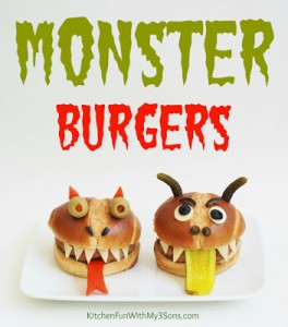 Monster Burgers with Best Foods & super sweepstakes!