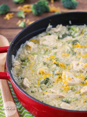 One Pot Chicken & Broccoli Rice