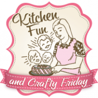 Kitchen Fun and Crafty Friday link party features