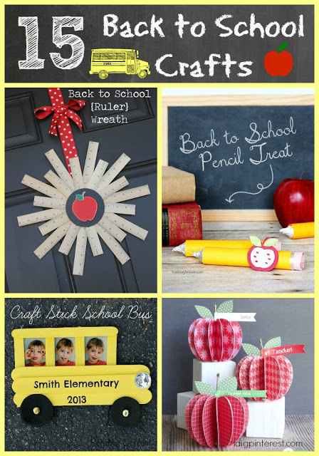15 Back to School Crafts