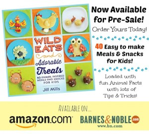 1st Sneak Peek inside the Wild Eats & Adorable Treats Book!