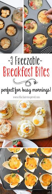 3 Freezable Breakfast Bites