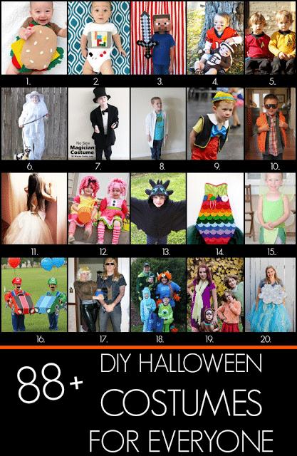 88+ DIY Halloween Costumes