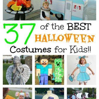 BEST Homemade Halloween Costumes For Kids