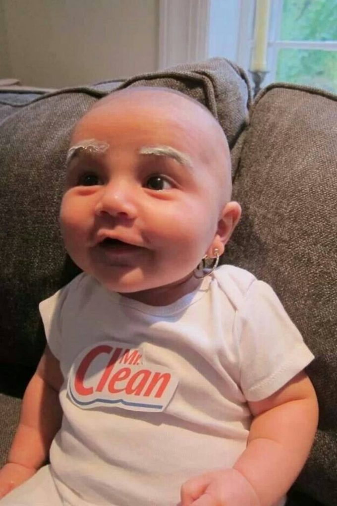 Mr. Clean Halloween Baby Costume