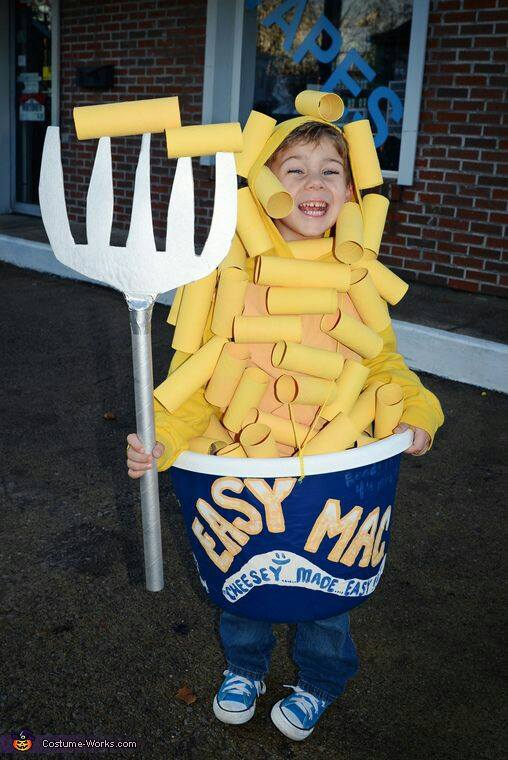 Macaroni and Cheese Costume...these are the BEST Kids Costumes!