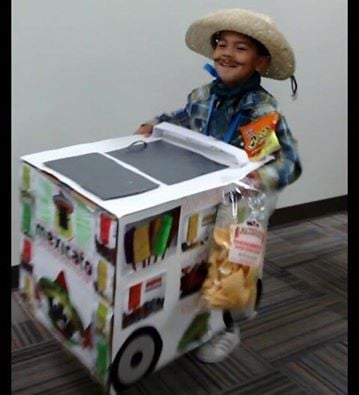 Paletero Mexican Man Costume....these are the BEST Halloween Costume Ideas for Kids!