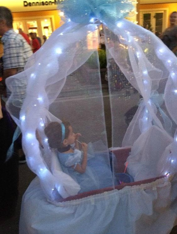 Cinderella Wagon Carriage....these are the BEST Homemade Halloween Costume Ideas for Babies & Kids!