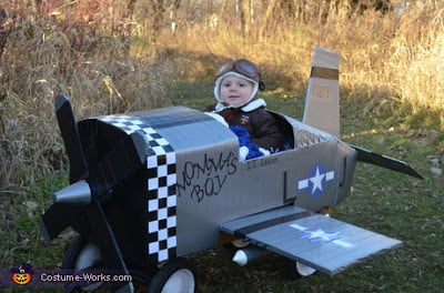 Baby Fighter Pilot Plane Costume