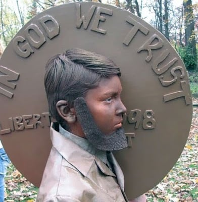 Giant Penny Costume