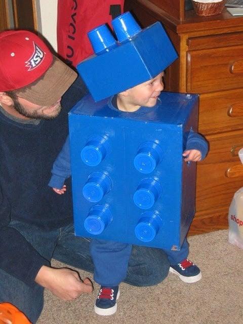Giant Lego Costume