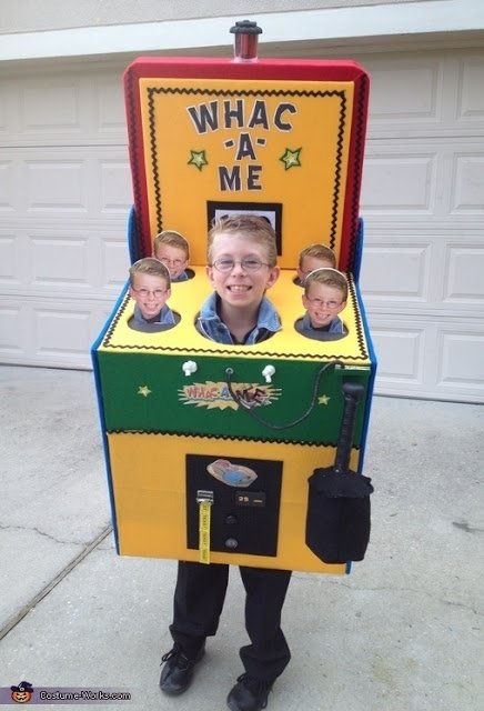 Whac-a-Me Arcade Game Costum