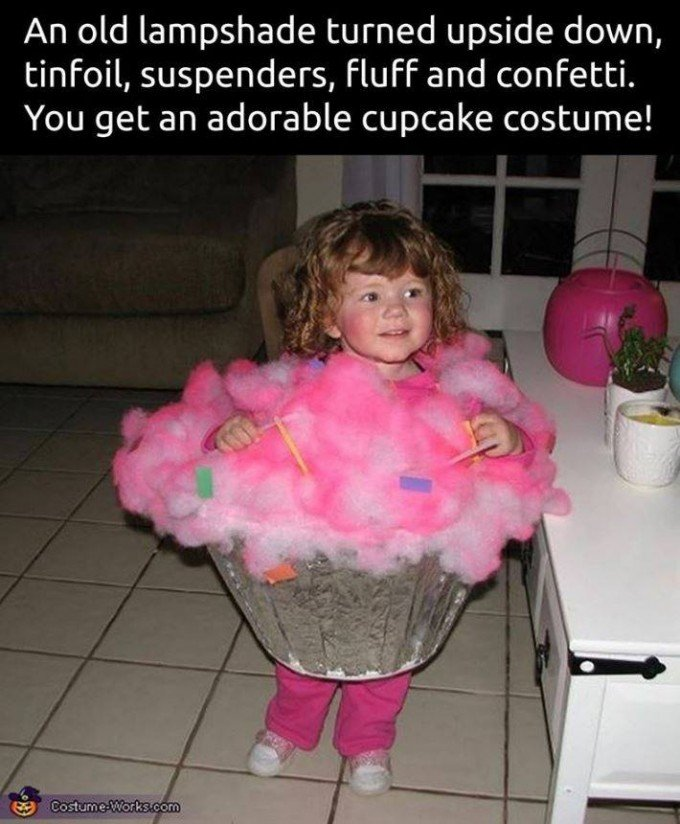 Over 40 of the best homemade halloween costumes for babies kids homemade cupcake costumesese are the best halloween costume ideas for babies solutioingenieria Gallery
