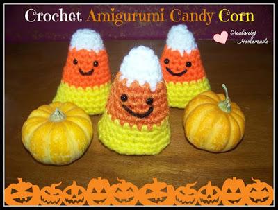Crochet Candy Corn