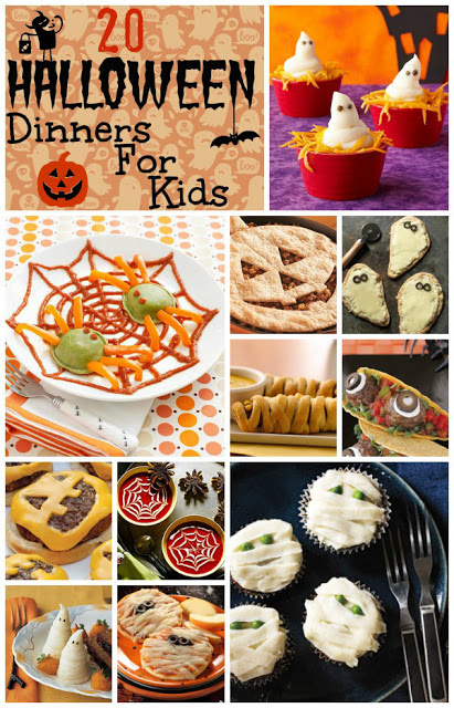 20 Halloween Dinners for Kids