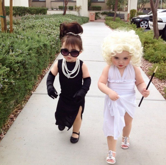 Marilyn Monroe  Aubrey Hepburn Costumesthese are the BEST Halloween Costume Ideas