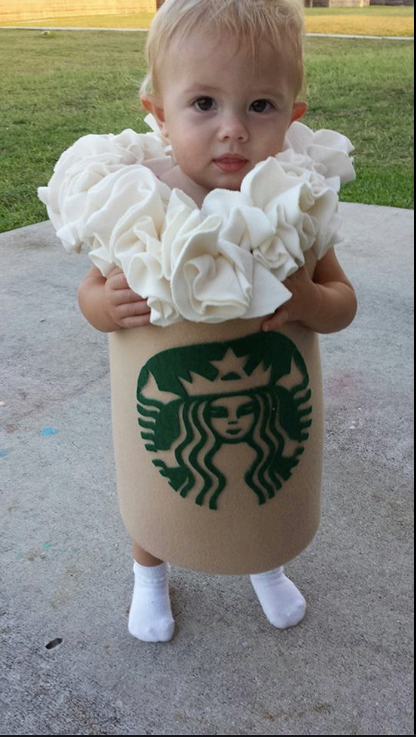 Starbucks Toddler Costume