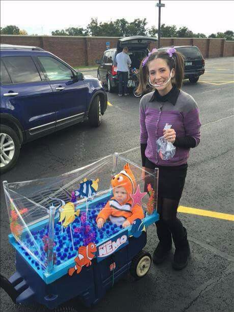 Finding Nemo and Darla Costumes