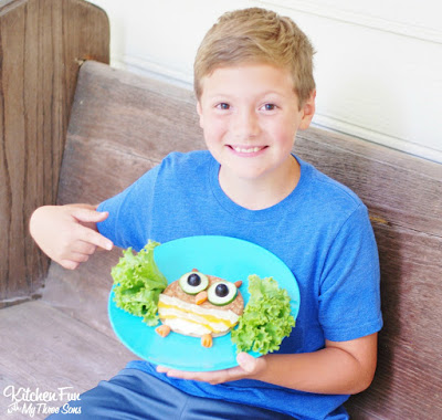Kids Healthy Owl Lunch
