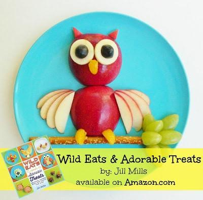 Apple Owl Snack