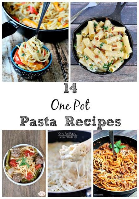 14 One Pot Pasta Recipes