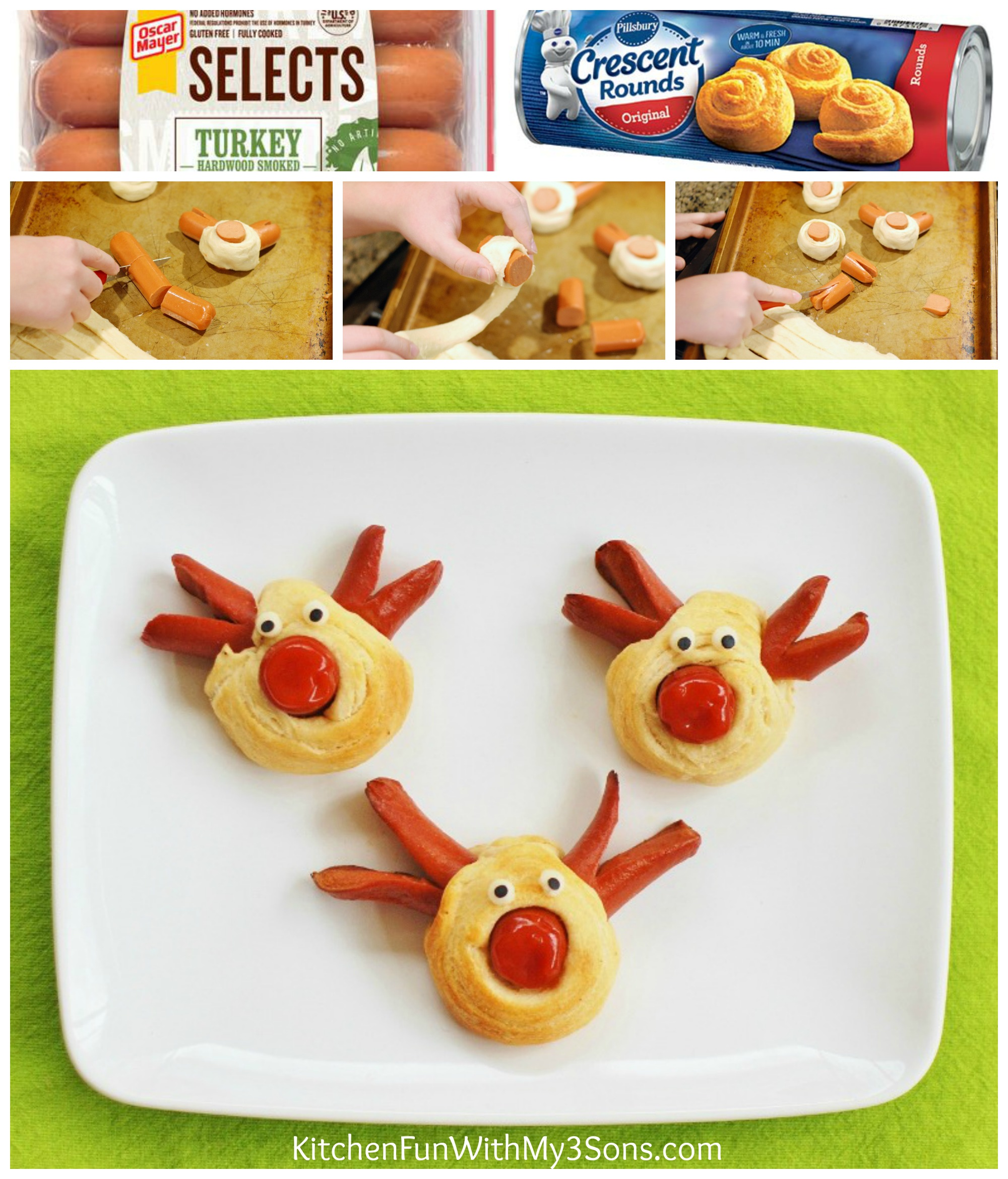 rudolph the red nose reindeer dogs for christmas kitchen
