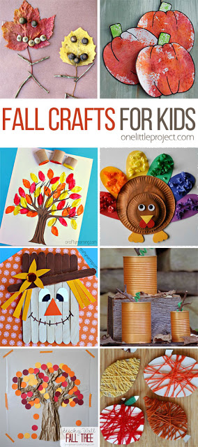 48 Fall Crafts for Kids