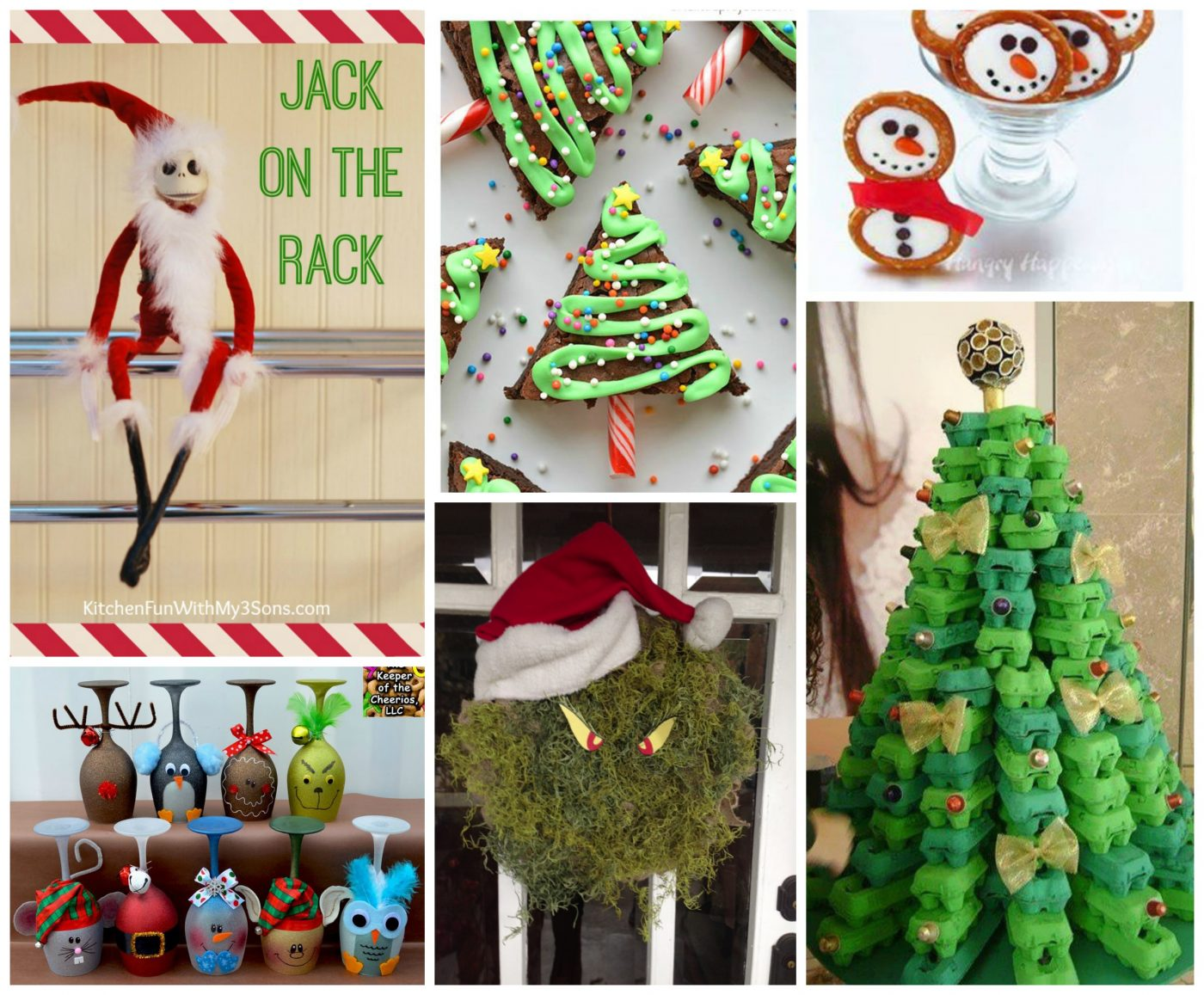 Ideas For Christmas Crafts Part - 31: Fun Finds Friday With Christmas Fun Food U0026 Craft Ideas!