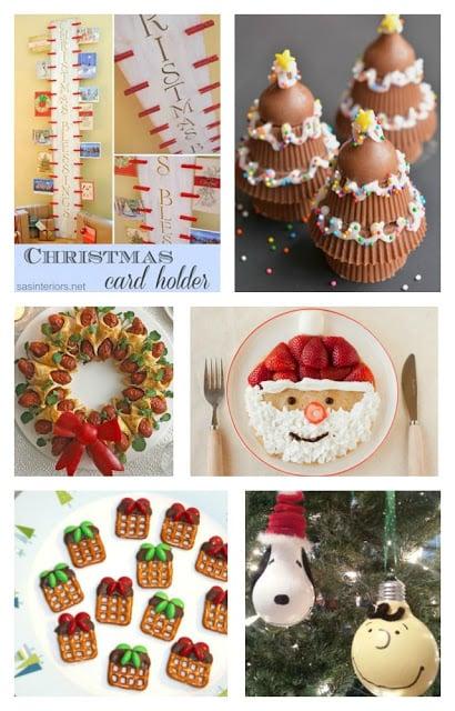 Fun Finds Friday with Christmas Fun Food & DIY Craft Ideas!