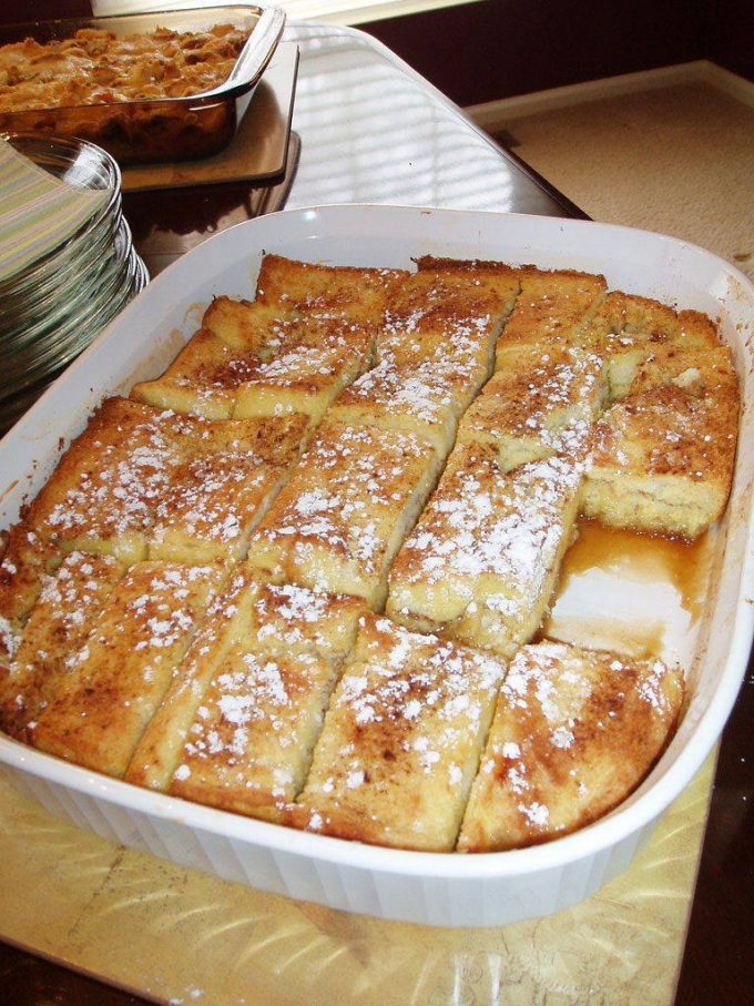 French Toast Bake for Christmas Morning!